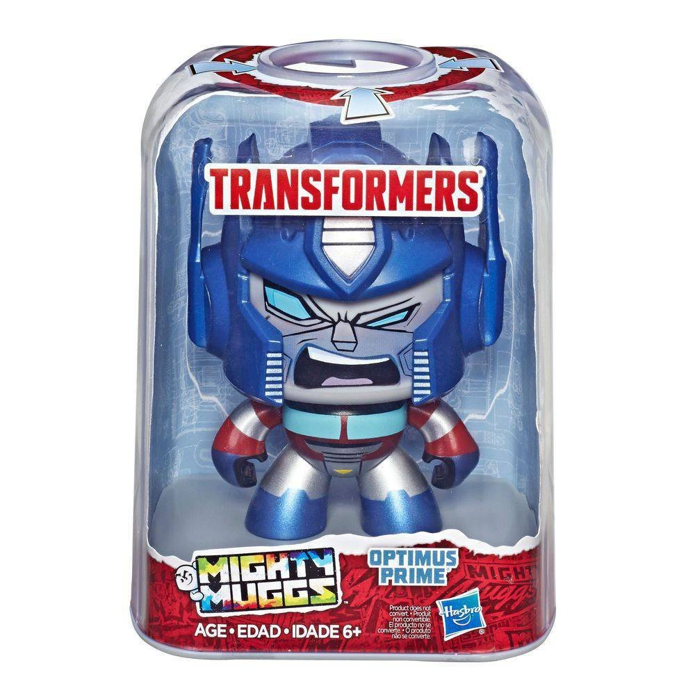 Boneco Mighty Muggs Transformer Optimus Prime- Hasbro E3477