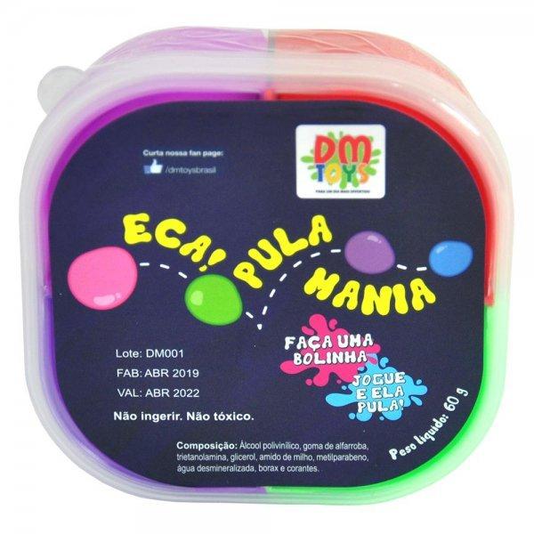 Massinha Eca Pula Mania 60g - Dm Toys Dmt5554