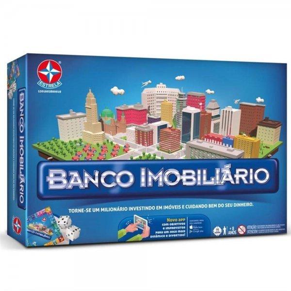 Jogo Banco Imobiliário Novo - Estrela 2800019