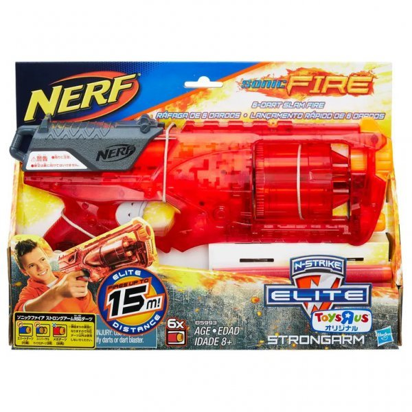 NERF STRONGARM ELITE FIRE - HASBRO B5993