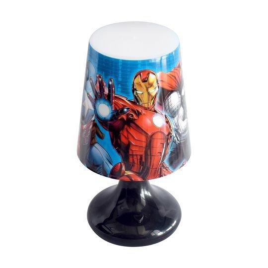 Abajur Avengers Led 18cm - Etihome Dyh-572