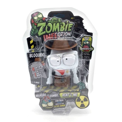 Boneco Zombie Infection Kent´c Me - Fun Divirta-se 8112-1