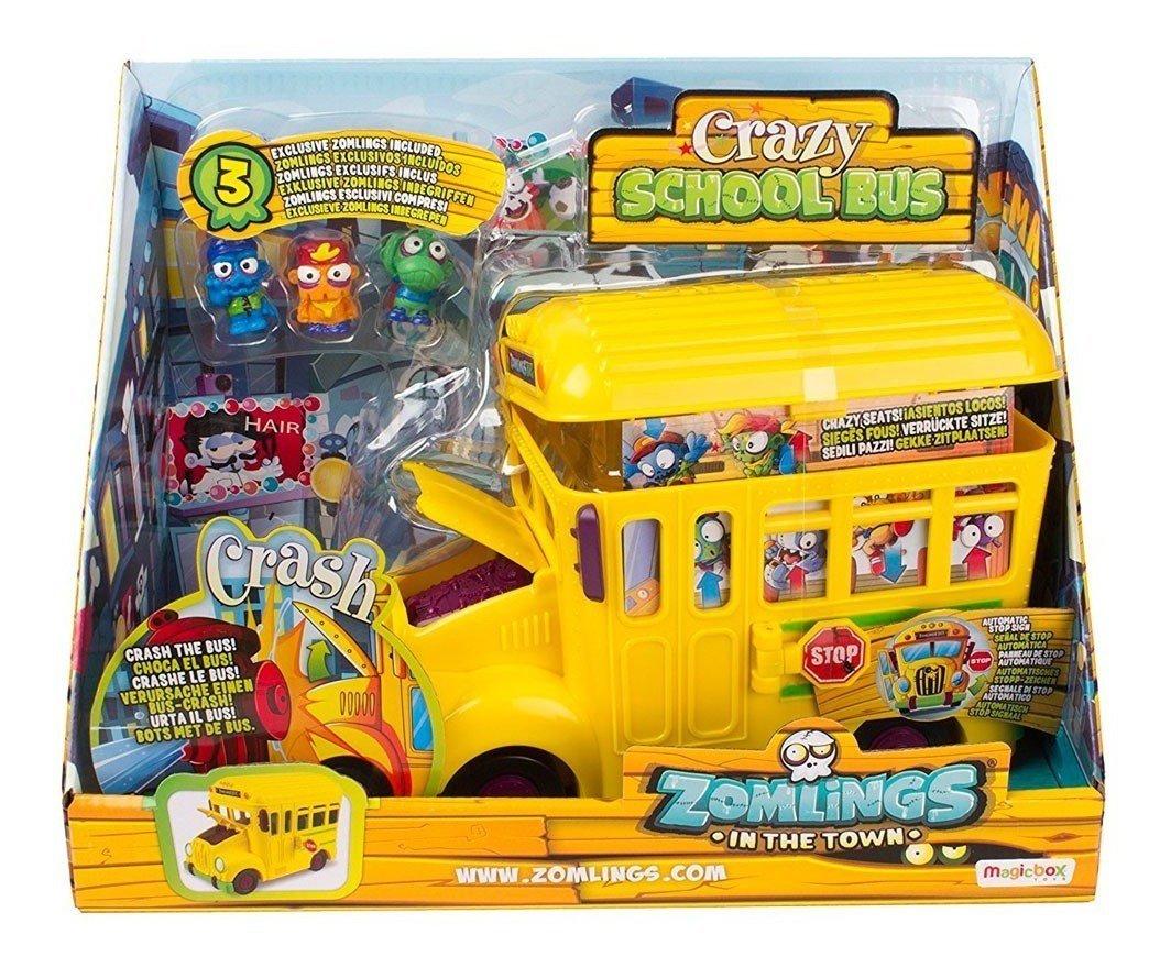 Zomlings Playset Ônibus Zombie - Fun Divirta-se 8271-2