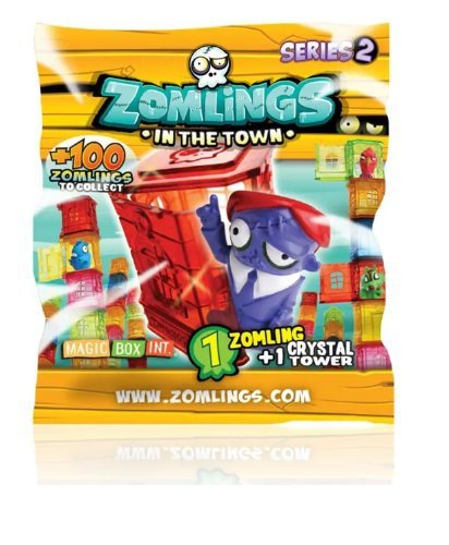 Zomlings - Torre Zombie Surpresa Com 1 - Série 2 - Fun Divirta-se 8270-7