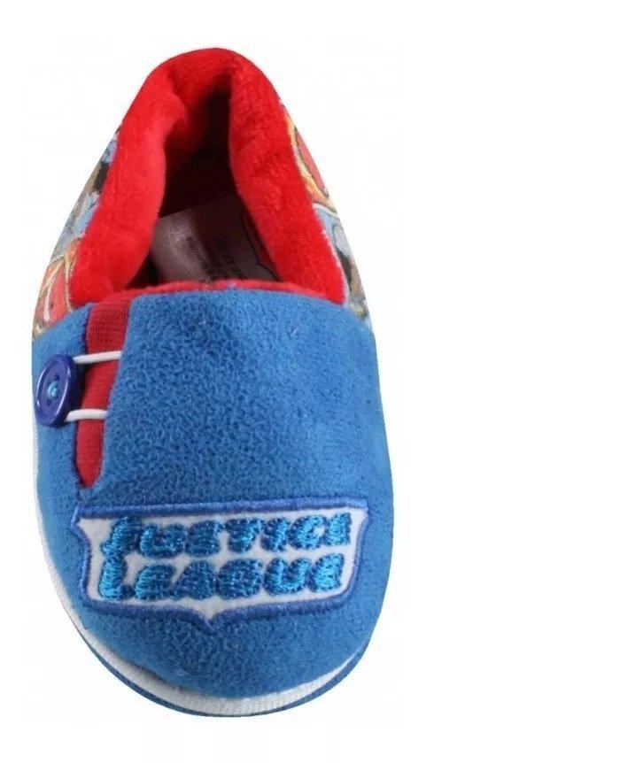 Pantufa Flat Inf Liga Da Justiça Azul 23/24 - Ricsen 13613