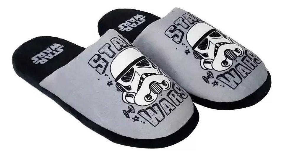 Chinelo Star Wars Young Stormtrooper 41/42 - Ricsen 139025