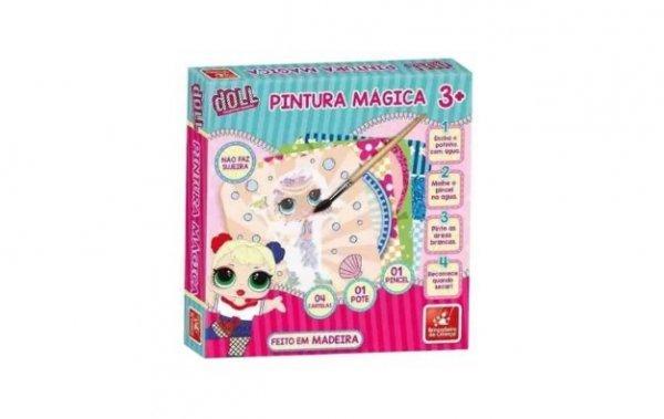 Pintura Mágica Doll - Brincadeira De Criança 3076