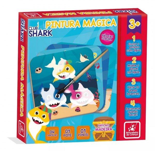 Pintura Mágica Club Shark - Brincadeira De Criança 3083