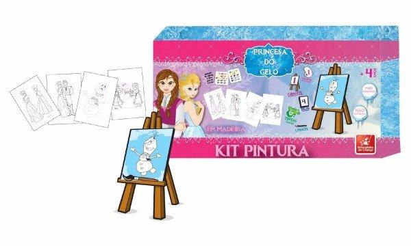 Kit De Pintura Princesa Do Gelo