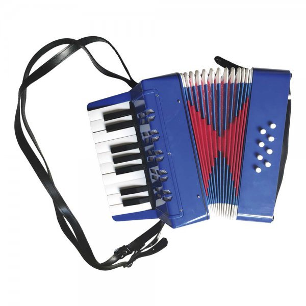 Mini Acordeon Junior 17 Teclas - Dm Toys