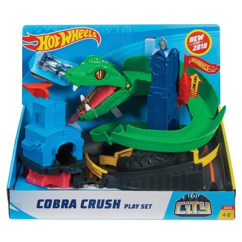 PISTA HOT WHEELS CITY CONJUNTO ATAQUE DE COBRA - MATTEL FNB20