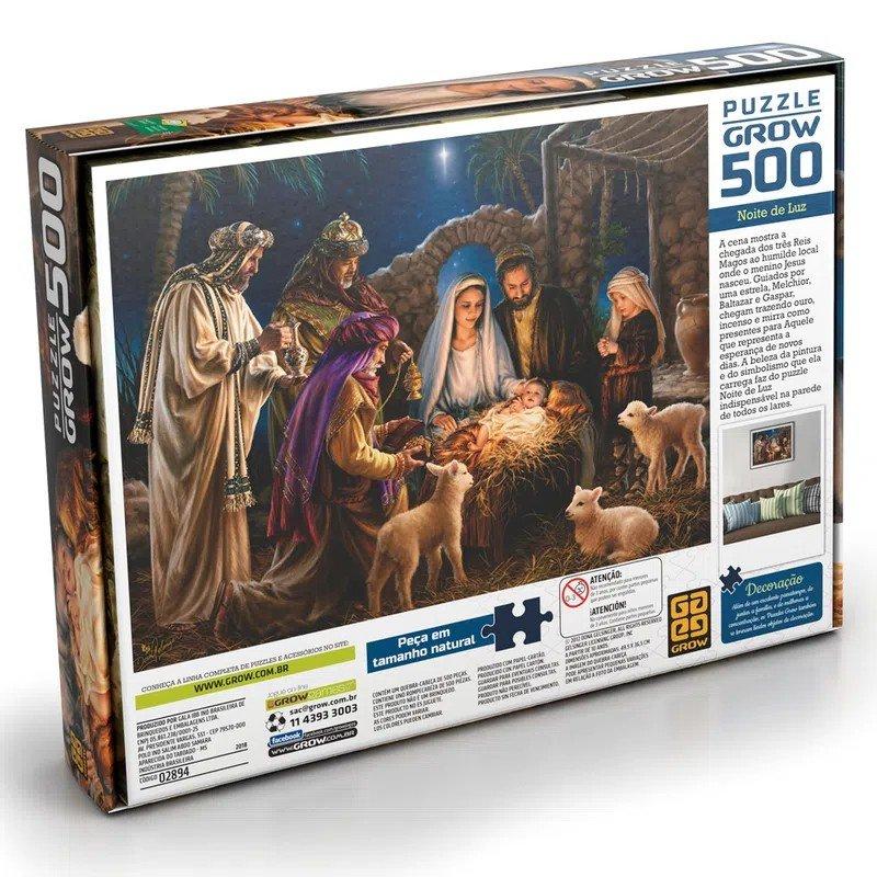 Quebra-cabeça 500 Peças Noite De Luz - Grow 02894