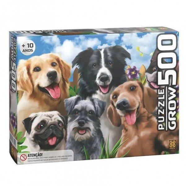 Quebra Cabeça 500 Pcs Selfie Pets - Grow 03742