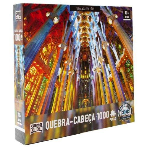 Quebra Cabeça 1000 Pcs Capela Sagrada Família - Toyster 2516