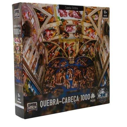 Quebra Cabeça 1000 Pcs Capela Sistina - Toyster 2516