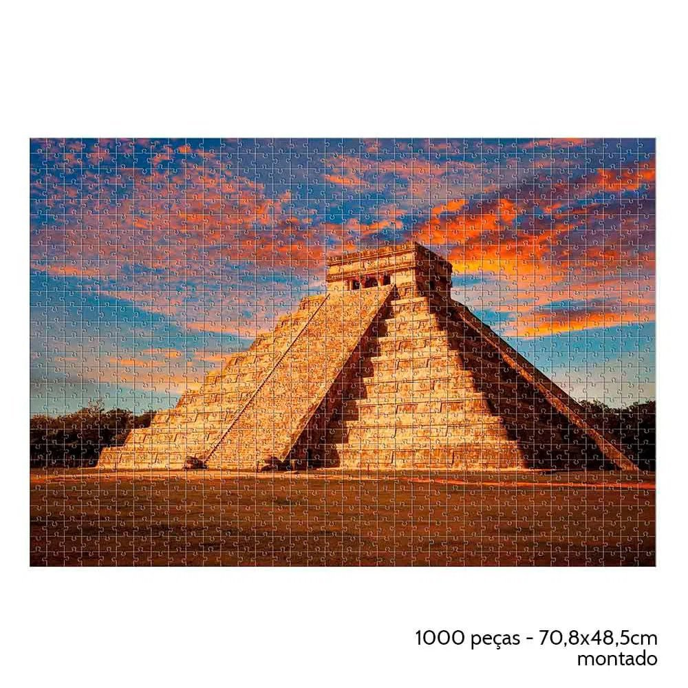 Quebra Cabeça 1000 Peças Chichen Itza - Estrela 2000164