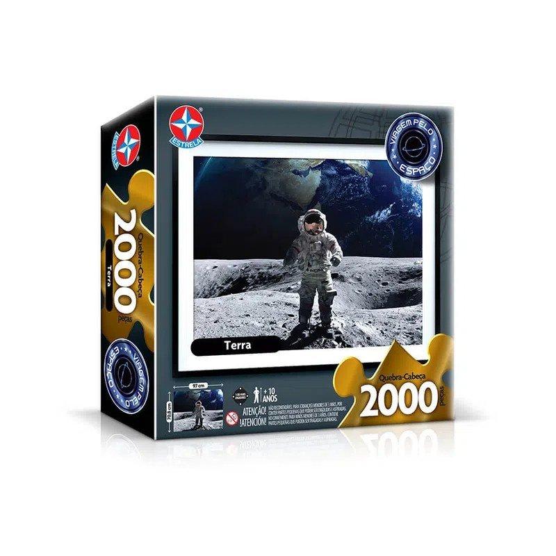 Quebra Cabeça 2000 Peças Planeta Terra - Estrela 1700055