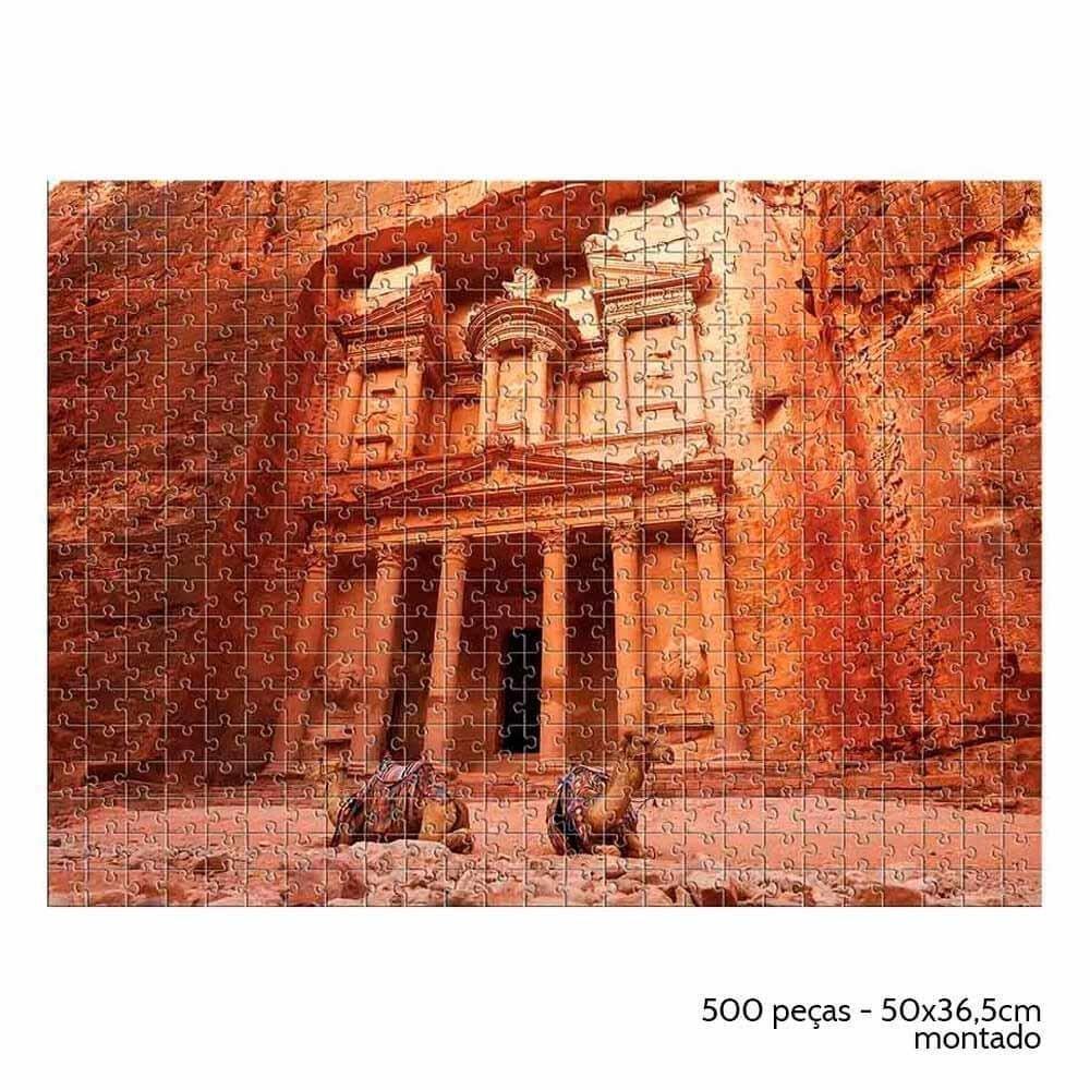 Quebra Cabeça 500 Peças Petra - Estrela 2000163