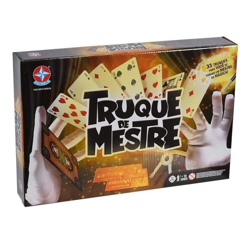 Jogo Truque De Mestre - Estrela 3100056