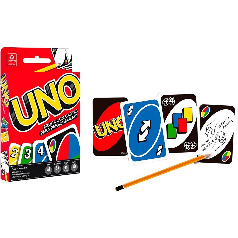 Jogo Uno Tradicional - Copag 98190