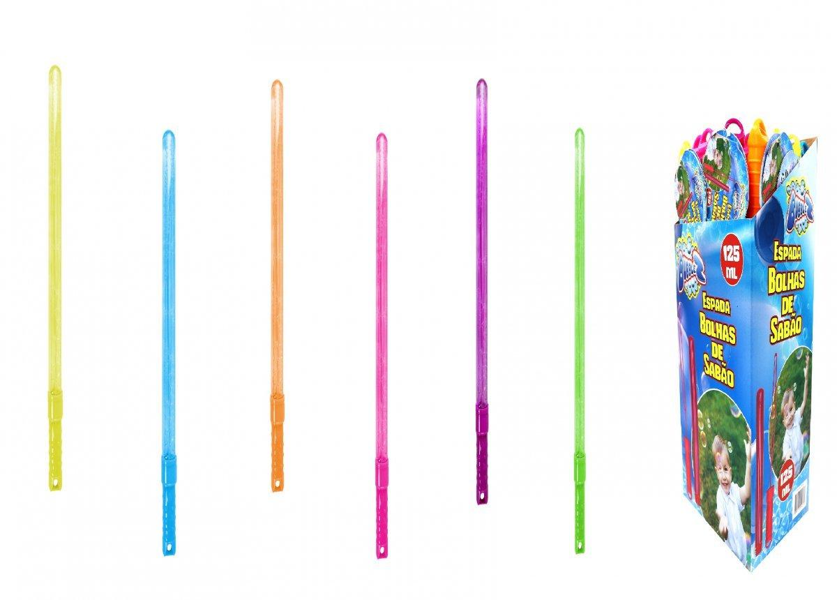 Display C/24 Espadas De Bolhas De Sabão Bubblez Batiki 79326