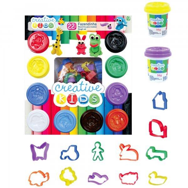 Massinha De Modelar Creative Kids Fazendinha - Batiki 31048