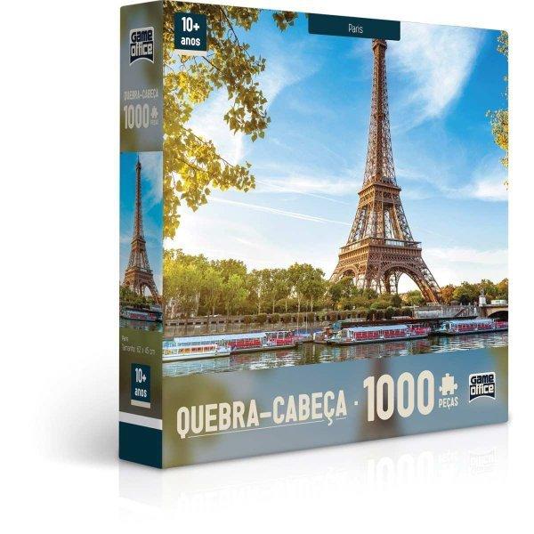 Quebra Cabeça 1000 Peças Paris França - Toyster 2091