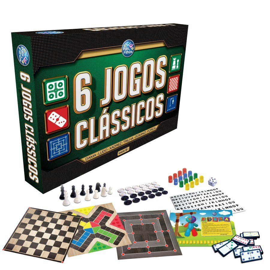 Jogos 6 Jogos Clássicos - Pais & Filhos 2759