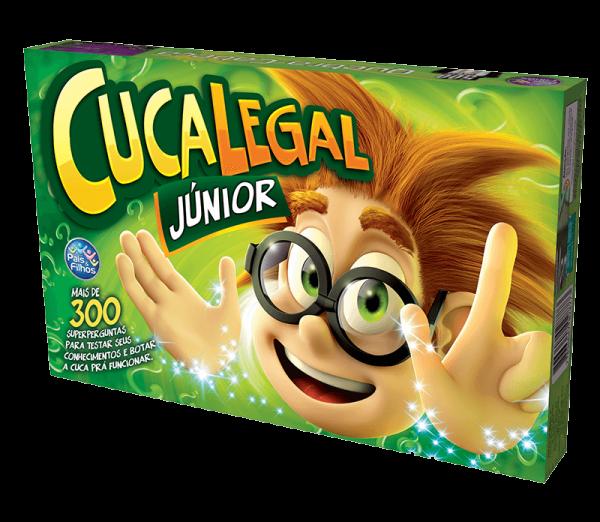 JOGO CUCA LEGAL JÚNIOR - PAIS & FILHOS 2817