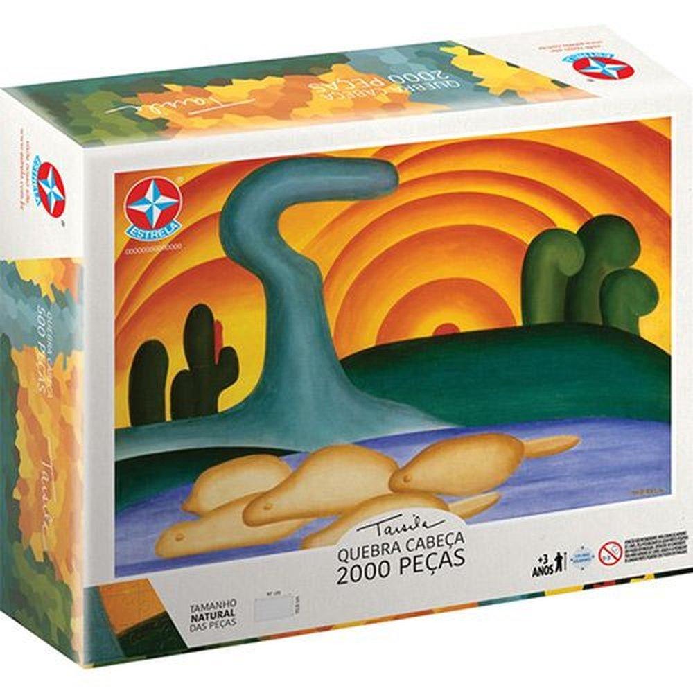 Quebra Cabeca Tarsila Do Amaral 2000 Pecas - Estrela 2000128