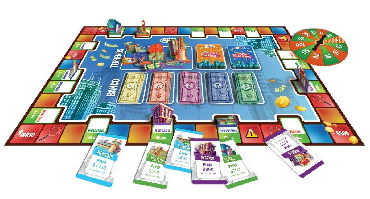 Jogo O Pequeno Empresário - Pais E Filhos 2796