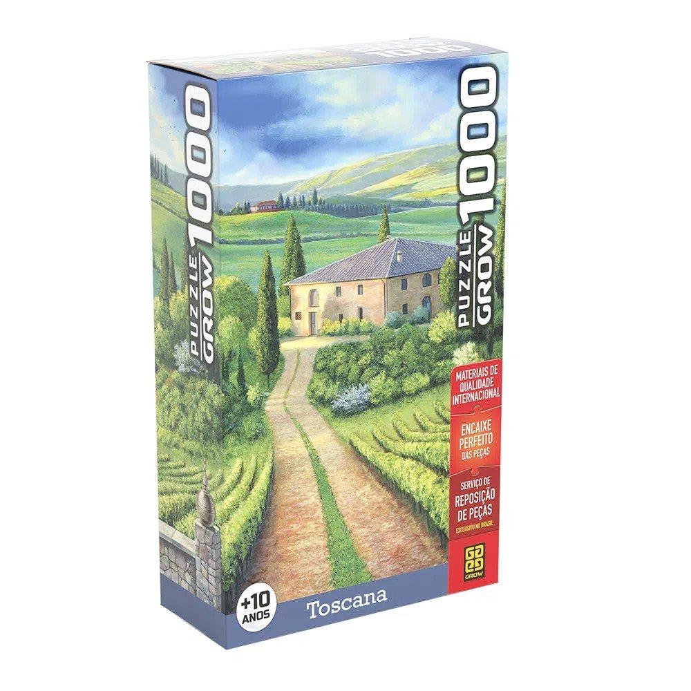 Quebra Cabeça 1000 Peças Toscana - Grow 03921