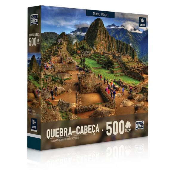 QUEBRA CABEÇA 500 PEÇAS MACHU PICCHU - TOYSTER 02306