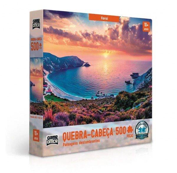 Quebra Cabeça 500 Peças Havaí Paisagens - Toyster 02634