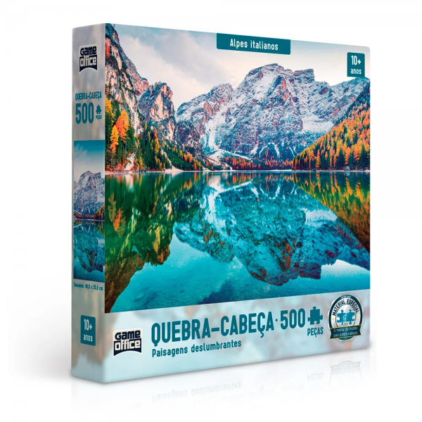 QUEBRA CABEÇA 500 PEÇAS ALPES ITALIANOS - TOYSTER 02634