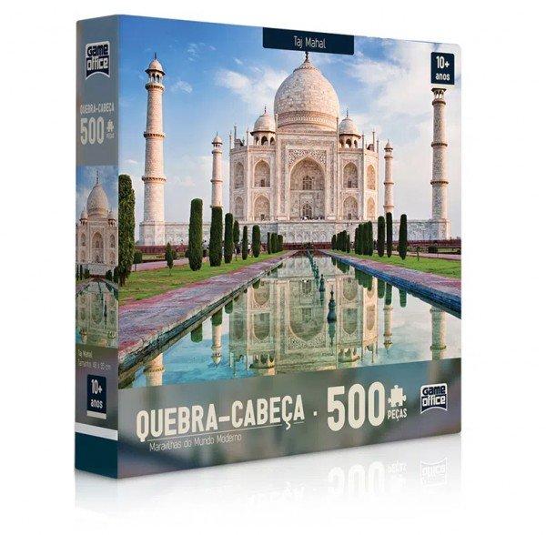 Quebra Cabeça 500 Peças Taj Mahal - Toyster 02306