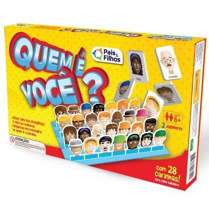 Jogo Quem É Voce Super Jogos - Pais E Filhos 2810