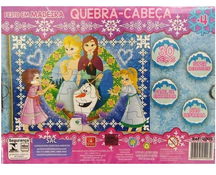Quebra Cabeça Princesa Gelo Brincadeira De Criança 4049