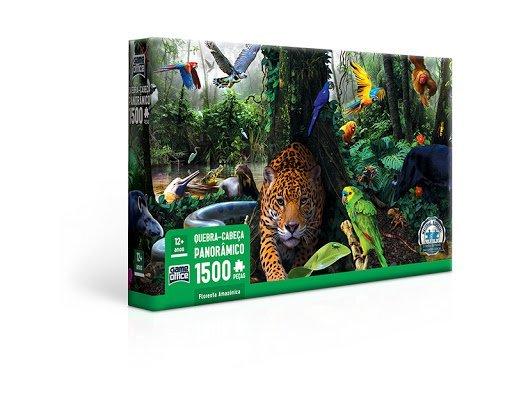 Quebra Cabeça 1500 Peças Floresta Amazônica - Toyster 2693