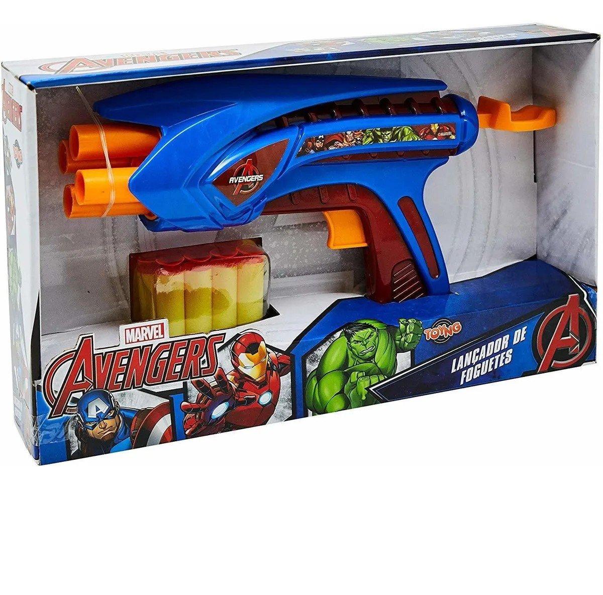 Lançador De Foguetes Grande Vingadores - Toyng 38785