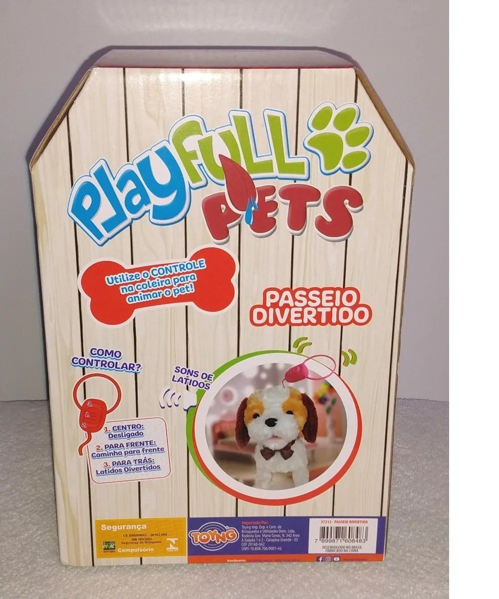 Cachorrinho De Controle Remoto Caramelo - Toyng 37212