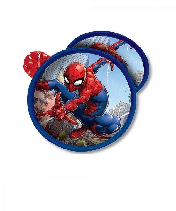 Jogo Agarra E Lança Homem Aranha Kit 2 Discos - Toyng 039445