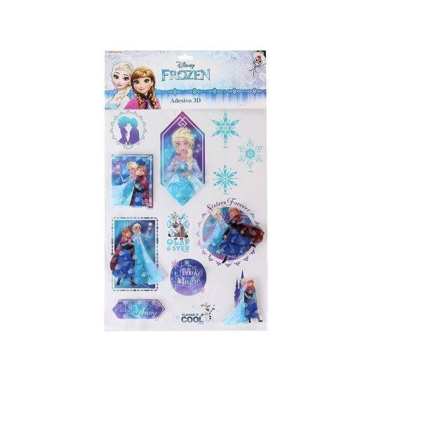 Adesivo 3d Frozen