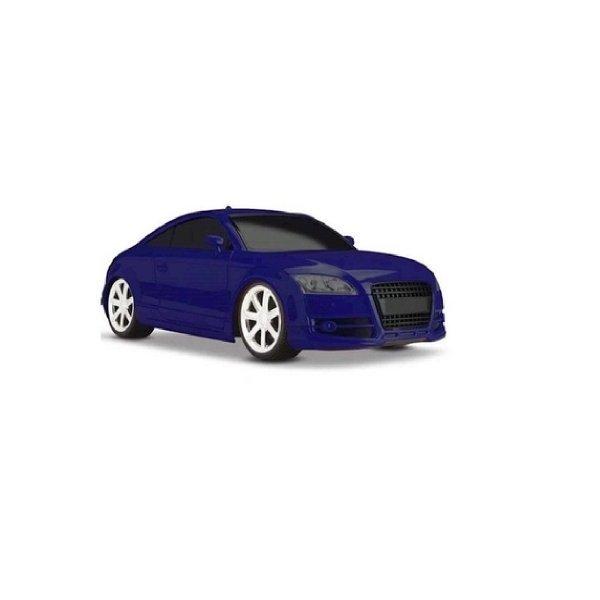Carrinho Mx-t Concept Alarm Azul Com Alarme Buzina Som E Luz  - Roma 1135