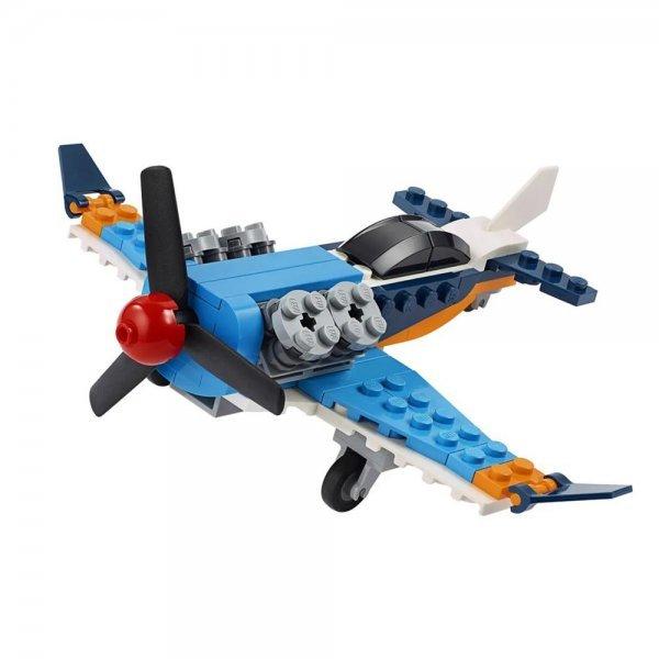 LEGO CREATOR - AVIÃO DE HÉLICE 3 EM 1 - LEGO 31099!