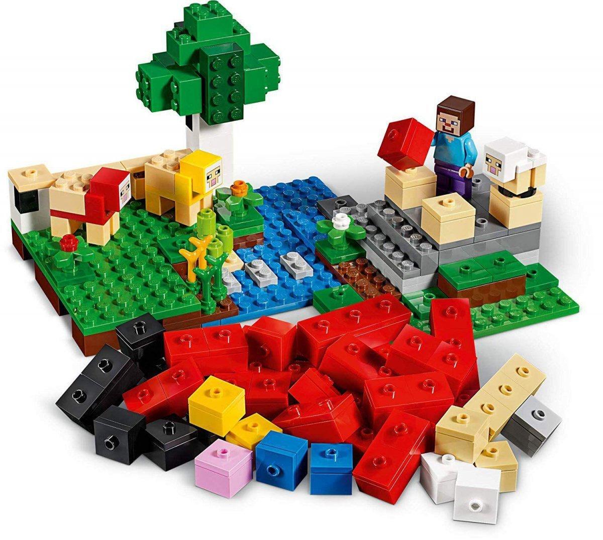 Lego Minecraft - Fazenda De Lã - Lego 21153