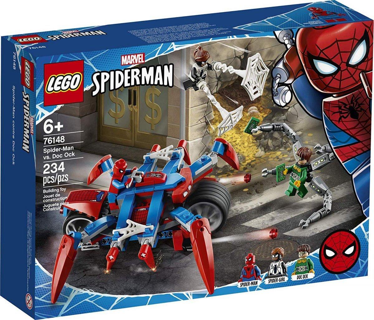 Lego Super Heroes - Homem Aranha Vs Doc Ock - Lego 76148