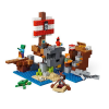 LEGO MINECRAFT - AVENTURA NO NAVIO PIRATA - LEGO 21152