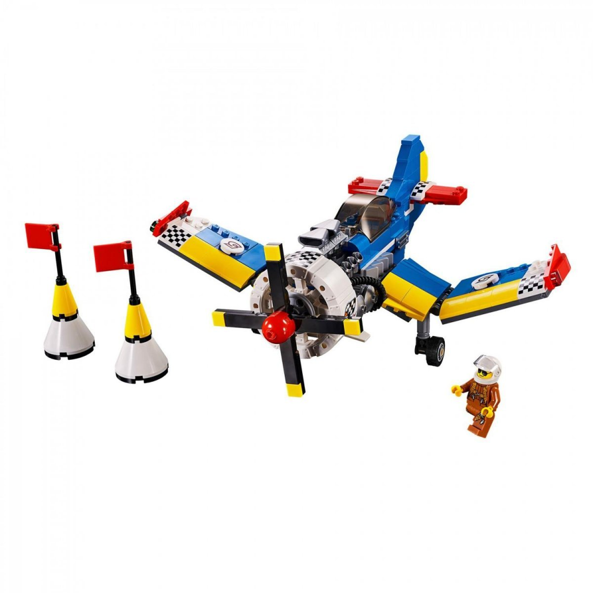 Lego Creator - Avião De Corrida 3 Em 1 - Lego 31094