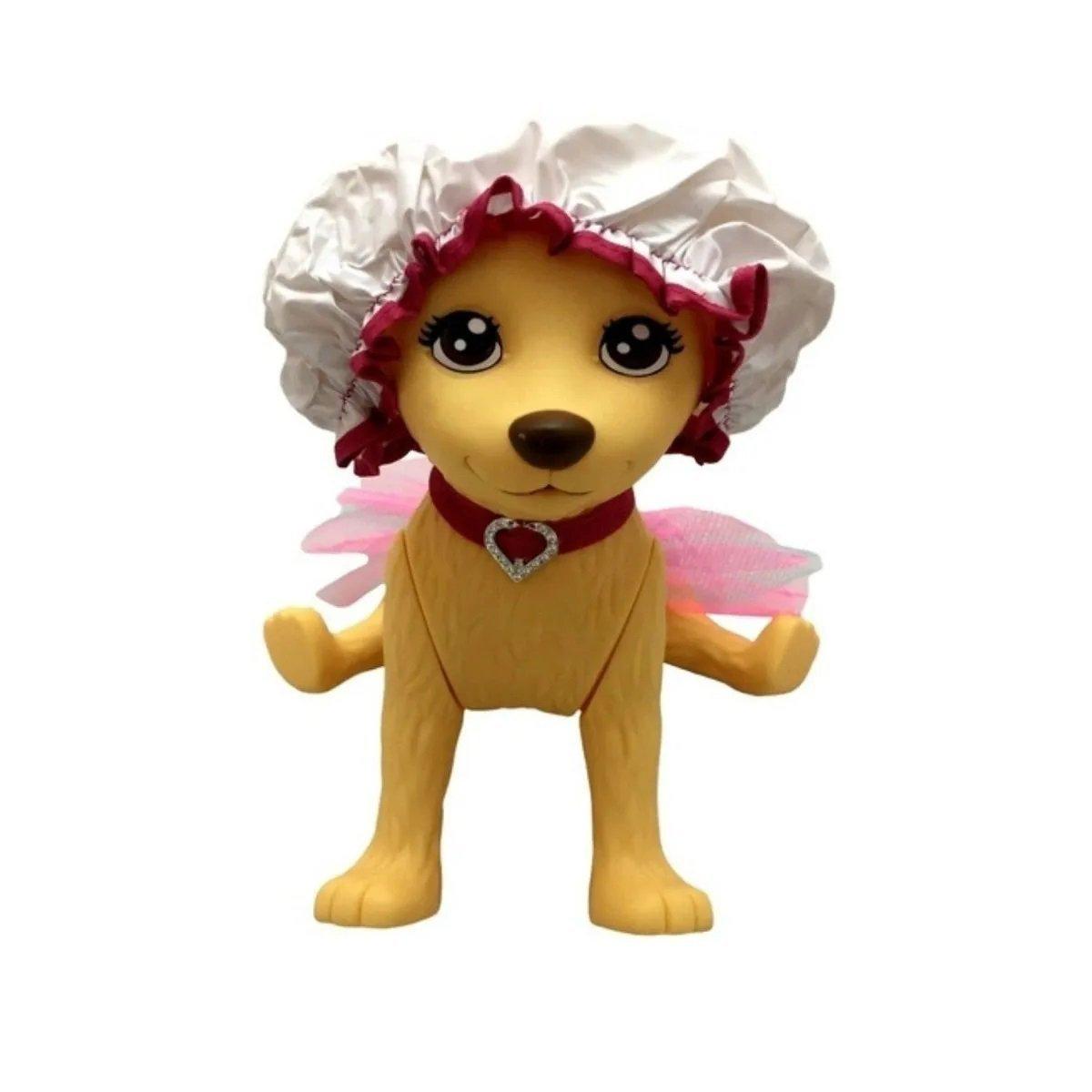 Pet Shop Da Taff - Cachorrinha Com Banheira - Pupee 1257